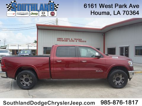 Pre-Owned 2019 Ram 1500 Laramie 4WD 6ft4 Box Four Wheel Drive Crew Cab