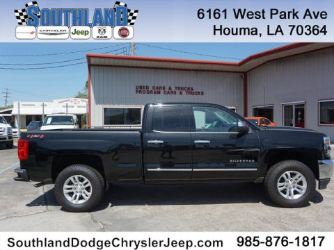 Pre-Owned 2018 Chevrolet Silverado 1500 LTZ w/1LZ 4WD 143WB With Navigation